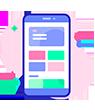 تصميم تطبيقات الهواتف